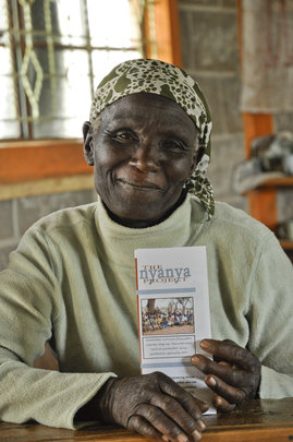 Ruth Mwanki is proud to be with The Nyanya Project