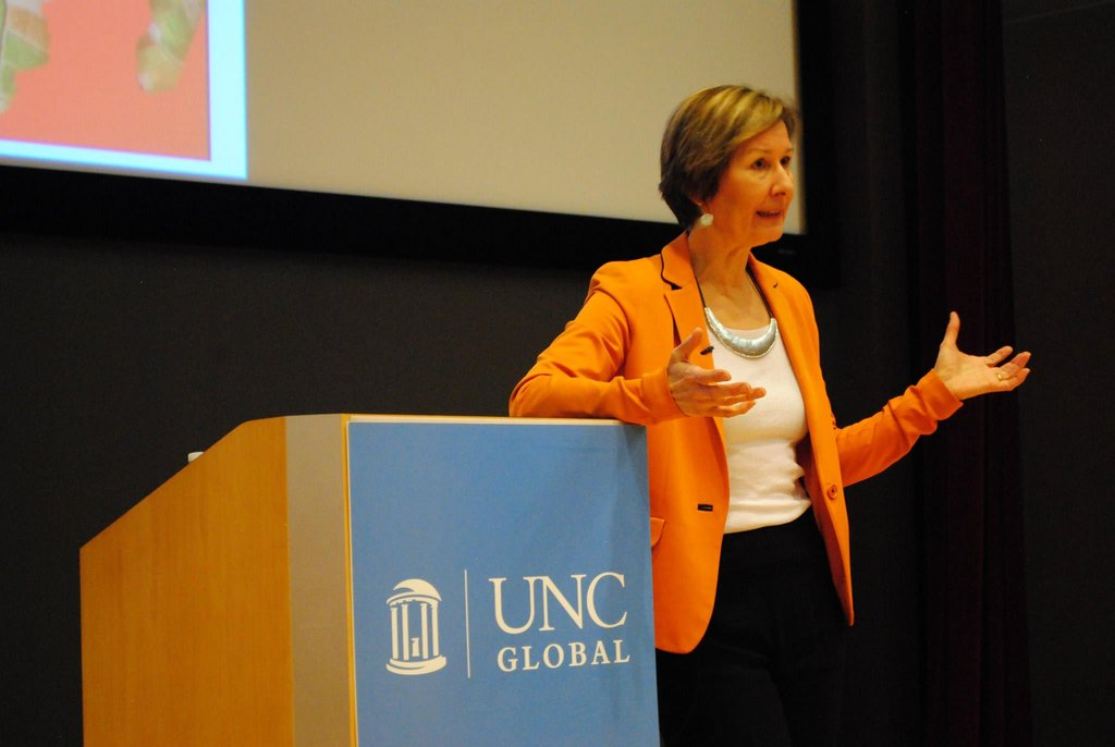 Dr. Deborah Brautigam discusses China-Africa study
