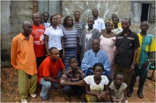 CCPC members in Agya Community, Senya