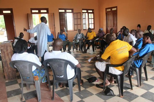 CCPC Members in Senya Discuss Child Monitoring
