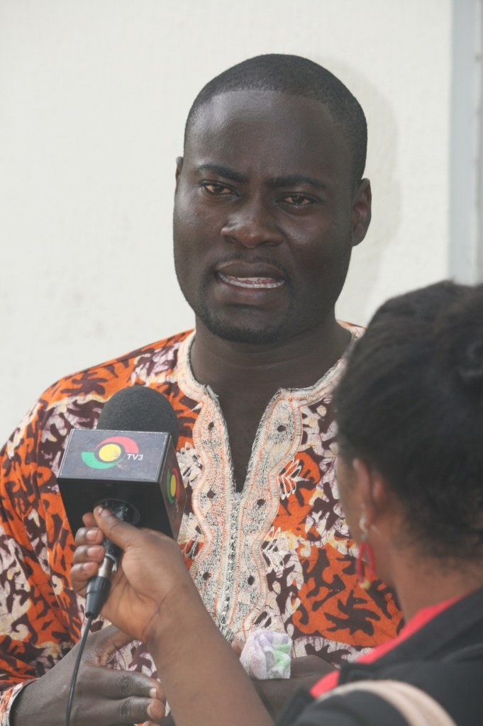 Field Operations Manager, Stephen Addo.