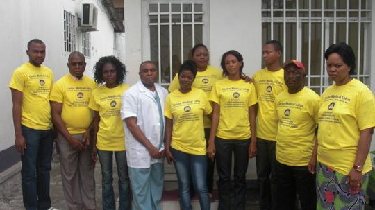 The Team on Open Door Day