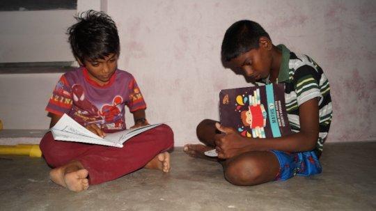 Workbooks based on children's needs