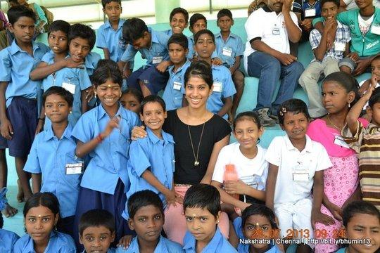 Ms. Joshna Chinappa, inaugurated Nakshatra Sports