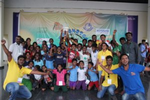Joy of bagging the overall trophy of excellence