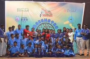 Trophy of Excellence   Nakshatra 2015, Chennai