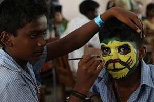 Face Painting   Nakshatra 2015, Chennai