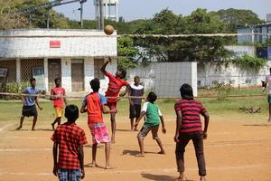 Volleyball @ Nakshatra, Chennai