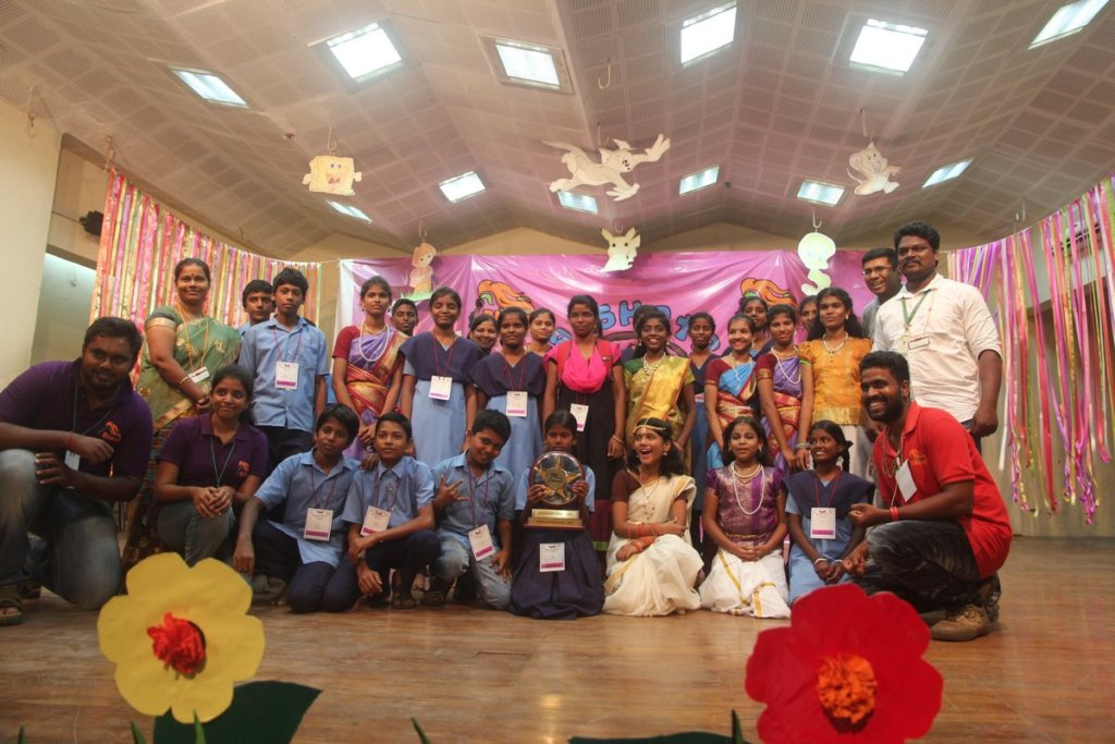 Sevalaya school was the overall winner