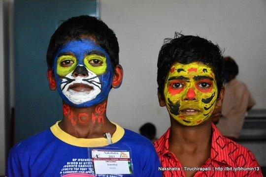 Face painting @ Nakshatra, Trichy