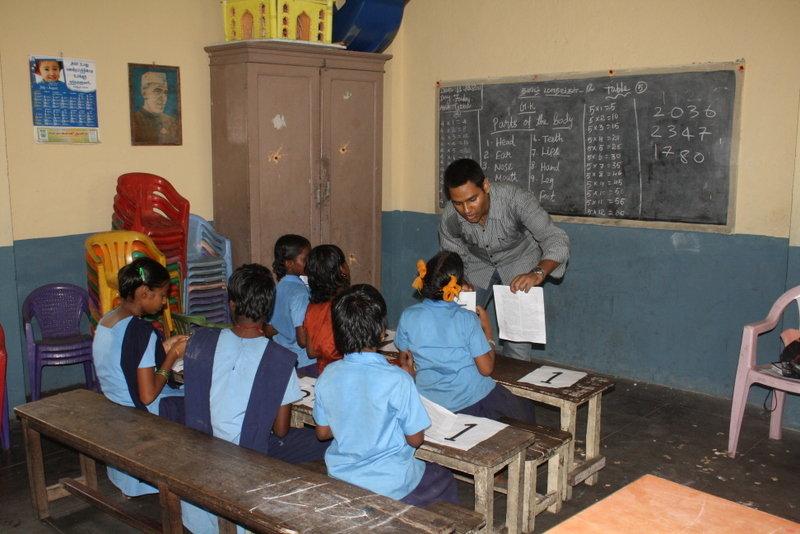 Educate 20000 Children through Volunteers in India