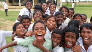 Educate 10000 children through volunteers in India