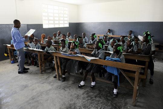 A peek inside the classroom