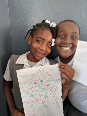Wanting to show off their mandalas!