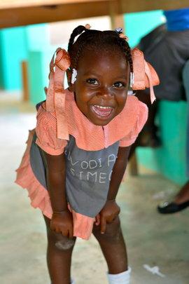 Evaniaka at pre-school