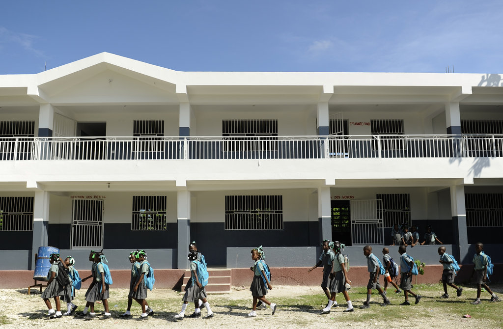 A School in Haiti- changing 300 children's lives!