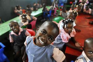 A School in Haiti- changing 700 children's lives!