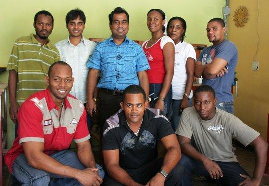 The BLBC team in Port au Prince