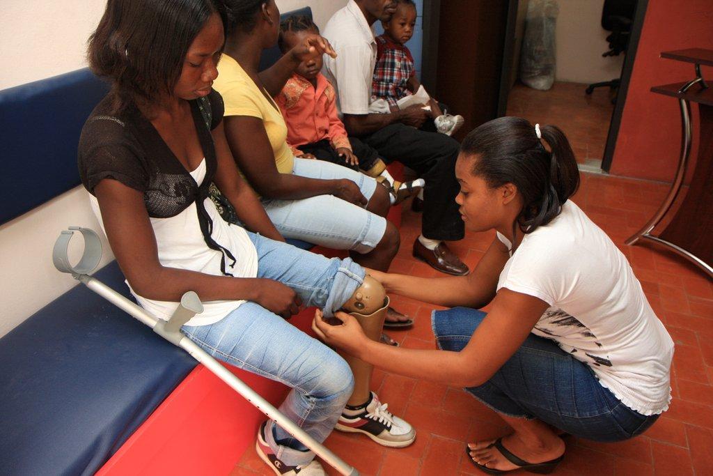 Make Haiti's limb and brace center self-sustaining