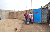 Build homes for families living in extreme poverty