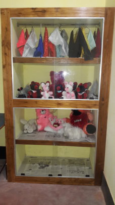 Display of Soft Toys made by SANTI Students