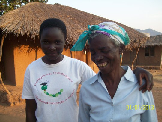 Maganizo and grandmother