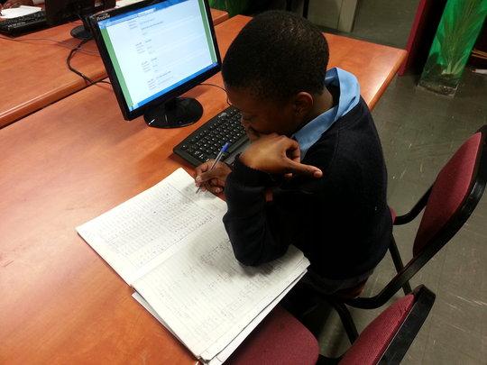 Help South African children achieve in Maths