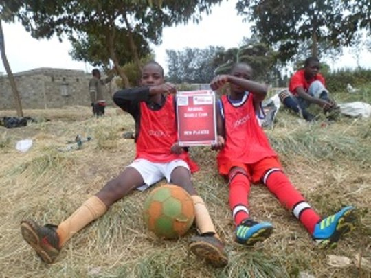 Teaching Youths English Literacy Through Football