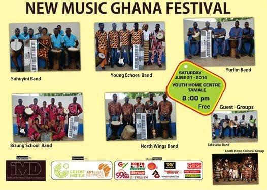 New Ghana Music Festival poster