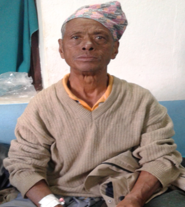 68 yr. old patient - a new lease on life