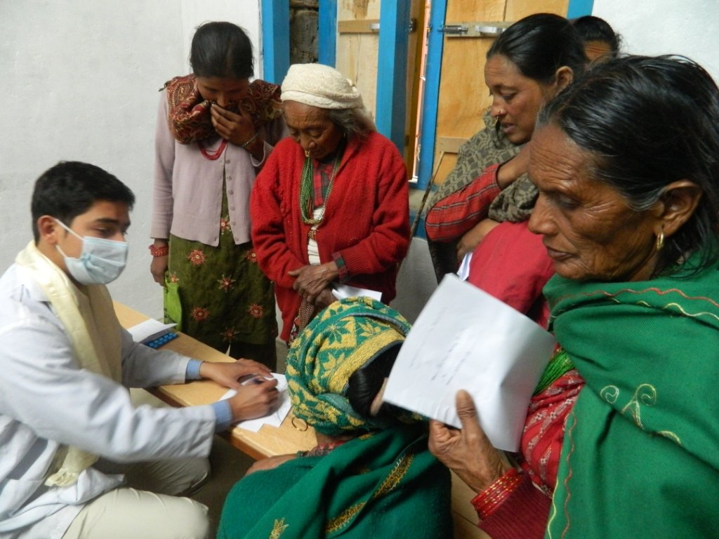 Lifesaving healthcare for remote farming villages