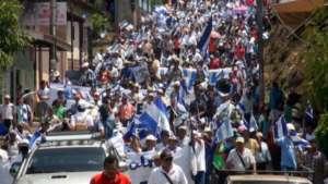 Blue and White Marchs, Masaya and Matiguas