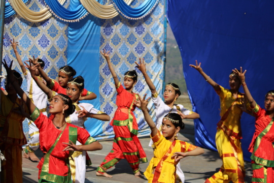 Indian classical dance performance