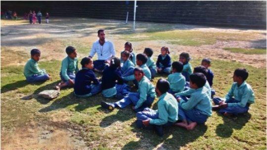 Deepak, our Sports Teacher