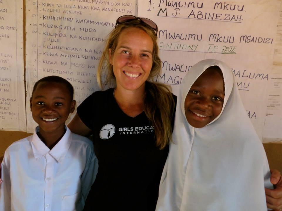 Rai and the Girls in Tanzania