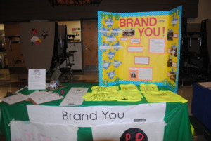 Students endorse products that match their values