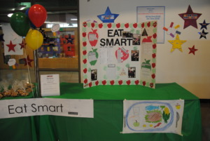 Students learned about healthy eating choices