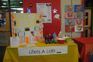 Students learned about scientific concepts