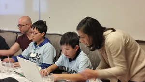 Students learn how to code and create video games
