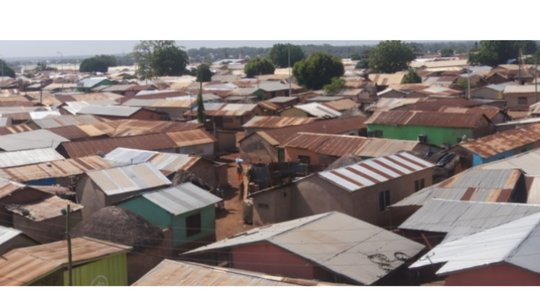 A section of Adenta Community