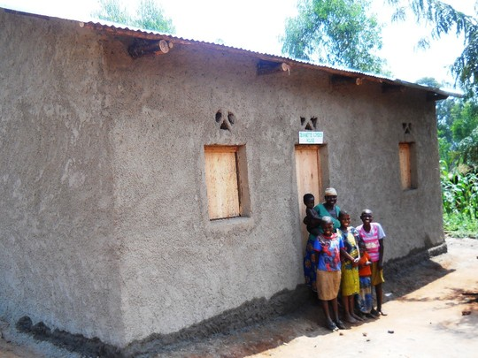 #1: A new home buit for the 4th widow family