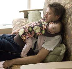 Alexey and his daughter Aisylu