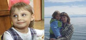 Natalia and her daughter Irochka