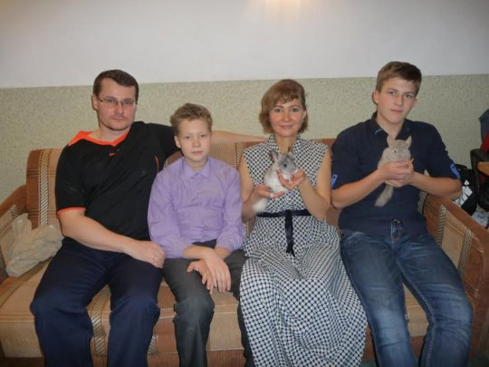 Alexander, Veronika and their sons