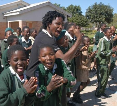 AIDS education for 20,000 7th graders in Zimbabwe