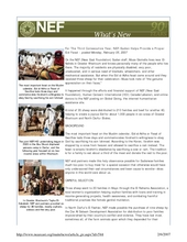 For The Third Consecutive Year, NEF-Sudan Helps Provide a Proper (PDF)