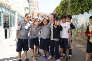 AEES students in Ramallah