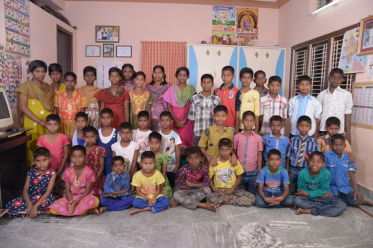 Orphan Street Children in need at seruds Orphanage