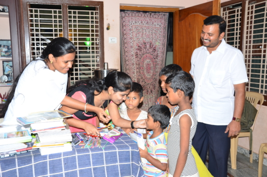Orphanage giving shelter for Street Children india