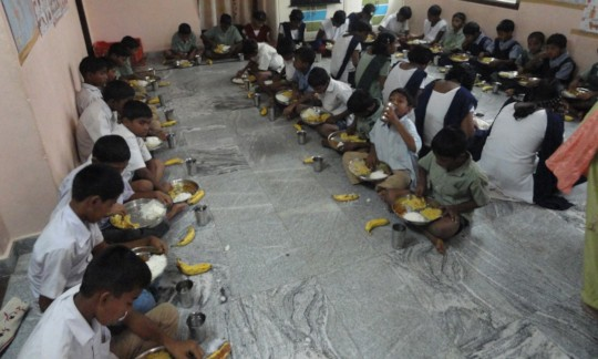 Sponsorship of lunch for orphan street children